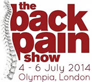 back pain show logo